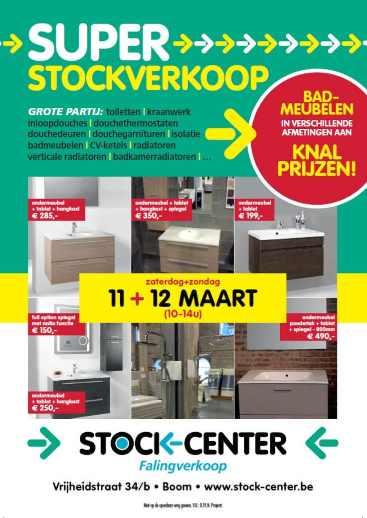 Super Stockverkoop StockCenter Boom 11/0312/03