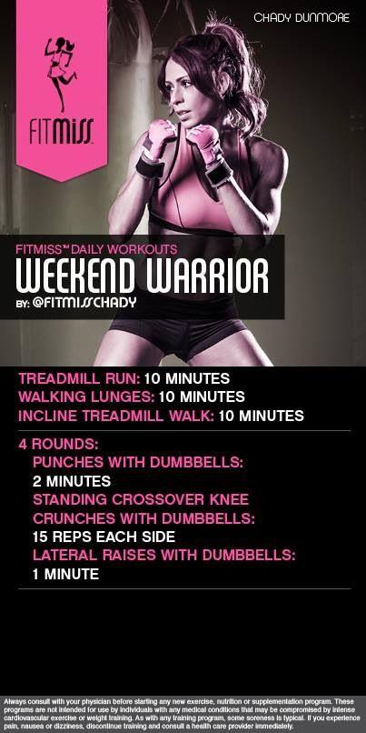 Weekend Warrior Workout