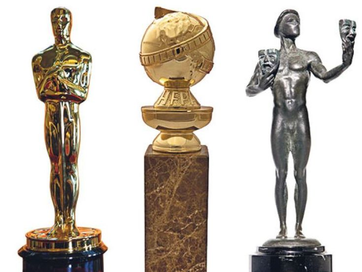 Golden Globe, Oscar, Grammy, SAG - Which trophy has the most ...