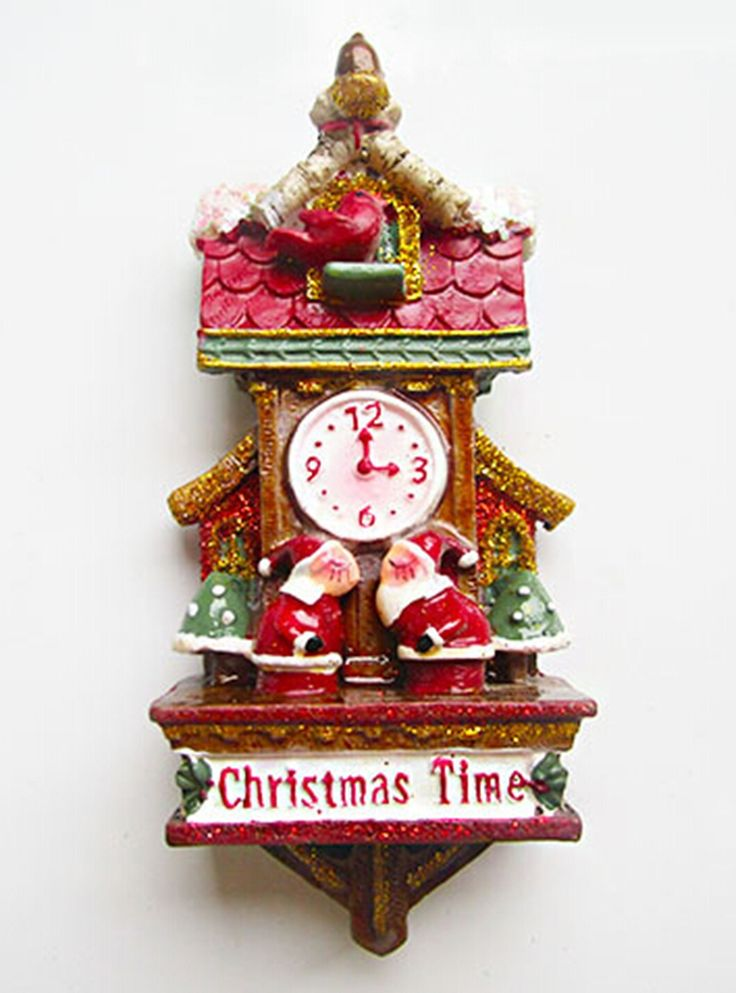 Find More Fridge Magnets Information about Vintage American Year Christmas Santa Clock Fridge Magnets Gift Creative 3D Magnetic Stickers Home Decor Refrigerator Magnet,High Quality sticker gel,China decorative stickers for cars Suppliers, Cheap sticker album from TUOYI Eshop on Aliexpress.com