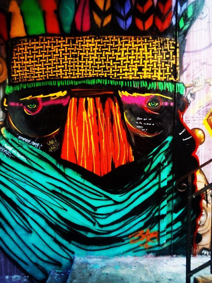 Grafiti in valparaiso , streetart, painting, art