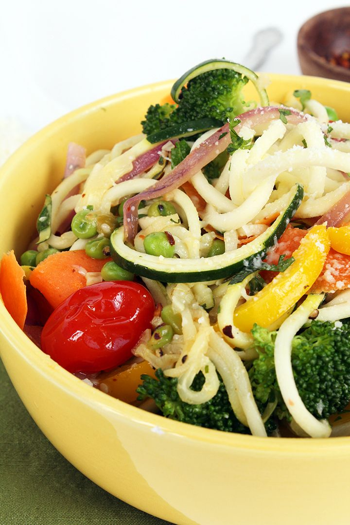 5 Super Easy Dinners That'll Help You Lose 5 Pounds  http://www.womenshealthmag.com/food/zucchini-pasta-for-weight-loss