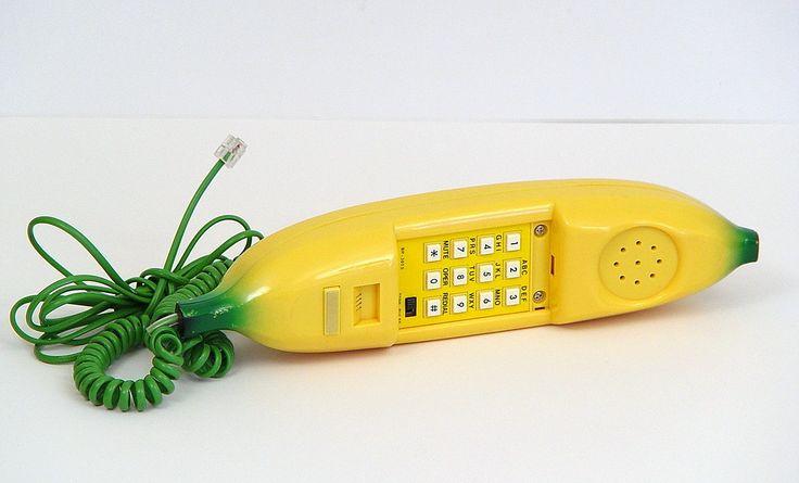 1980s banana-phone.