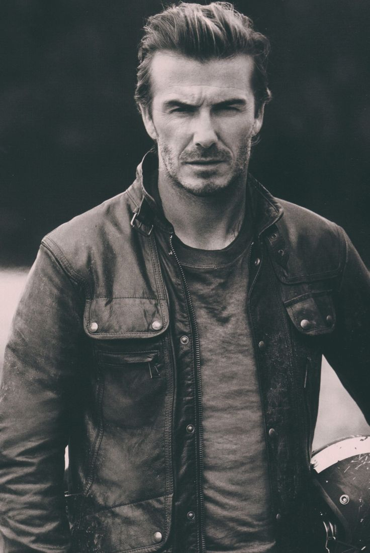 David Beckham for Belstaff The Legend Continues BELSTAFF.COM