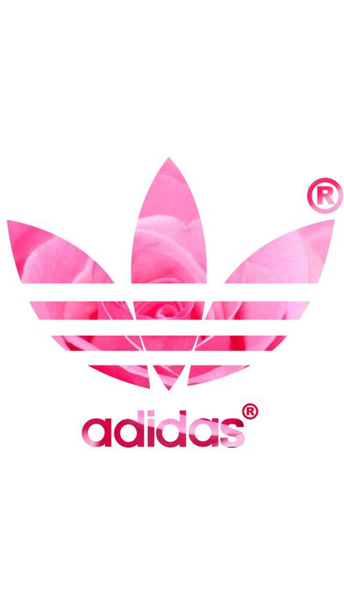 adidas, background, header, pink, pink rose, rose, wallpaper, iphone background, whatsapp background, adidas wallpaper