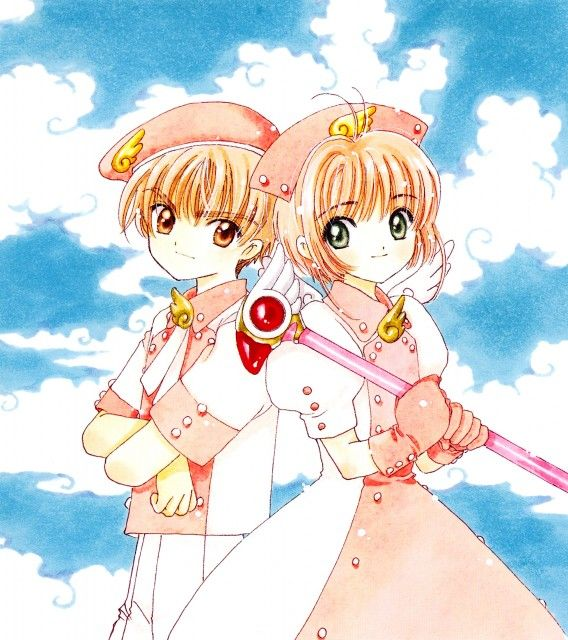 Syaoran and Sakura from Cardcaptor Sakura