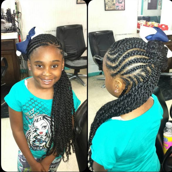 Latest Hairstyles For Kids: 25+ Best Ideas About Braid Styles For Kids On Pinterest