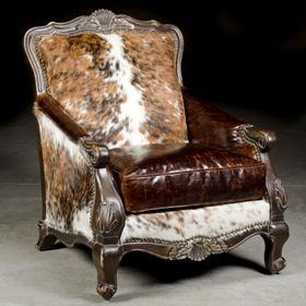 Buckley Chair. Cowhide FurnitureCowhide ChairWestern ...