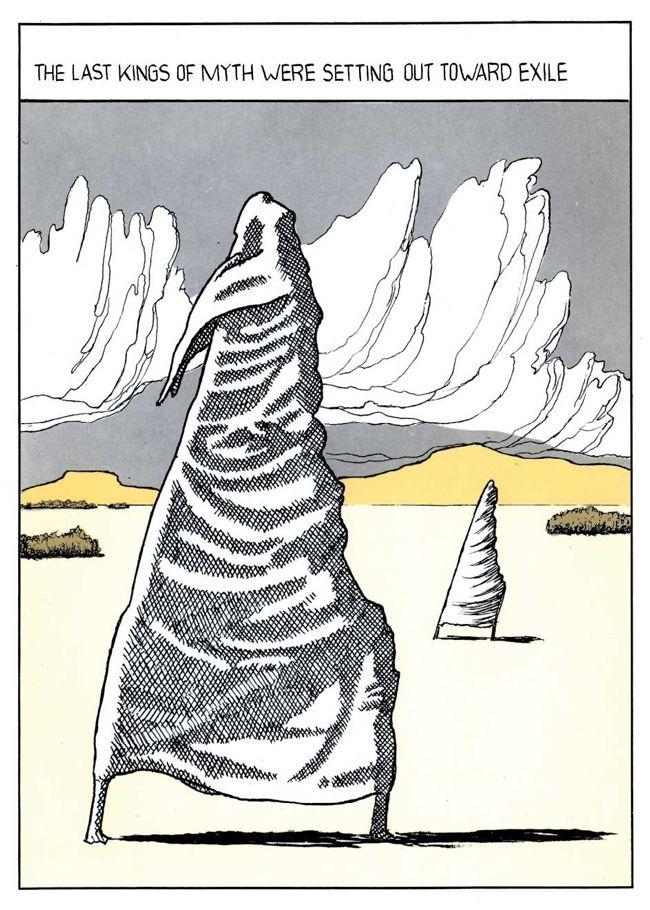 From Dino Buzzati's Poema a fumetti (1969), Poem Strip