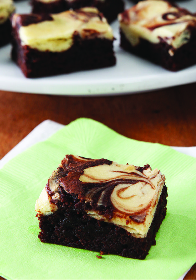 PHILADELPHIA Marble Brownies – As one fan noted in a review, this PHILADELPHIA Marble Brownie recipe is the best way to have both a brownie and cheesecake simultaneously for dessert!