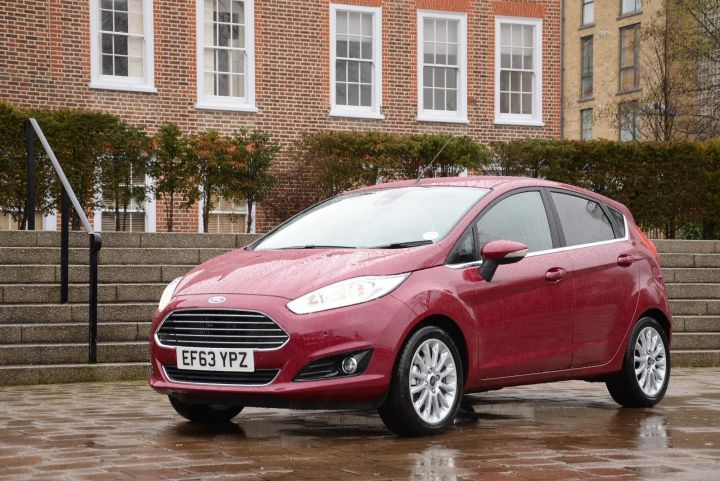 """Ford Fiesta Zetec. Not to be confused with """"Aztec"""" because that would be a car that looked like a spare pyramid."""
