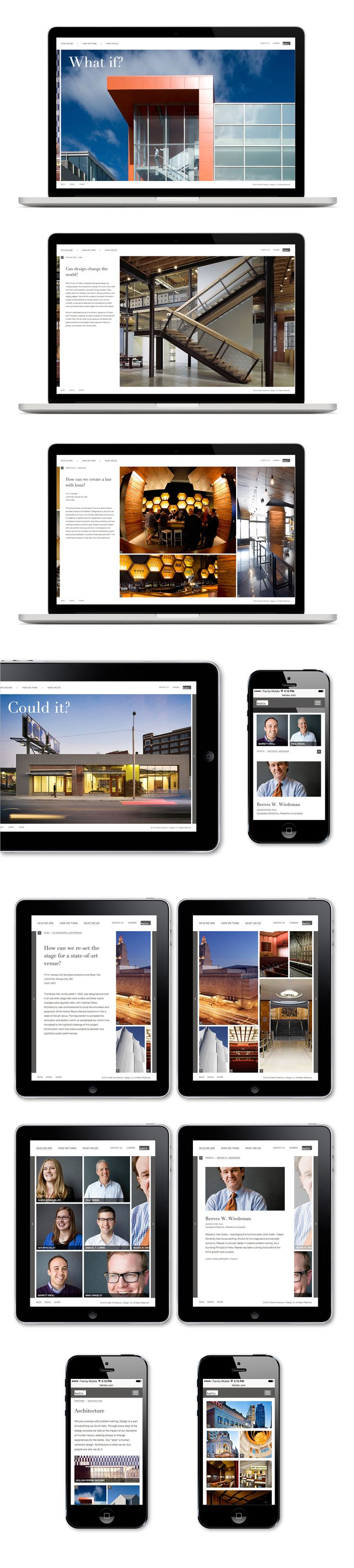 Helix Architecture Website   Copywriting, Design, Website   Design Ranch