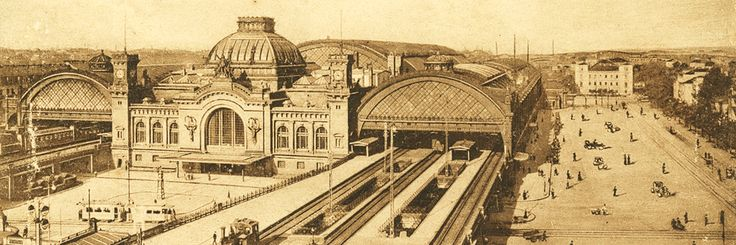 Dresden Hauptbahnhof um 1910