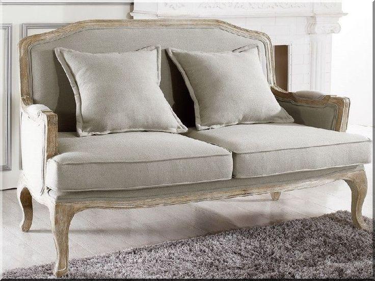 Antik bútor, kényelmes kanapé