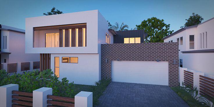 Empress - Two Storey House Floorplan by http://www.buildingbuddy.com.au/two-storey-house-plans/