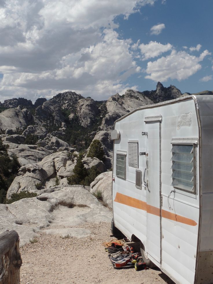 So Many Insanely Beautiful Places The Shasta Took Usincluding City Of Rocks Camper RemodelingBeautiful