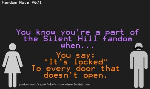 Silent Hill Fandom.