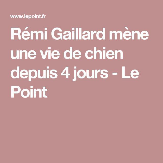 Rémi Gaillard mène une vie de chien depuis 4 jours - Le Point