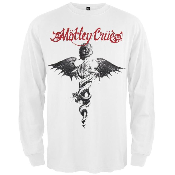 Motley Crue - Dr Feelgood Long Sleeve T-Shirt