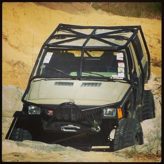 80 best images about roll cages on pinterest toyota - Jeep cherokee exterior roll cage ...