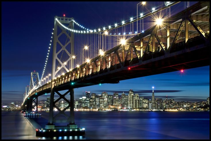 Bay Bridge - To visit some of my favorite people on this planet #monogramsvacation