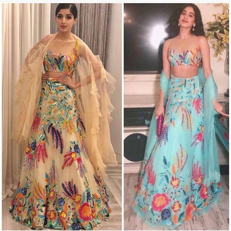 "73 Likes, 2 Comments - R&R (@revise_reform.pk) on Instagram: ""Manish Mayhem! Which Star wore this#ManishMalhotra#Ghagra#CholiBEST?!#SriDevi's…"""