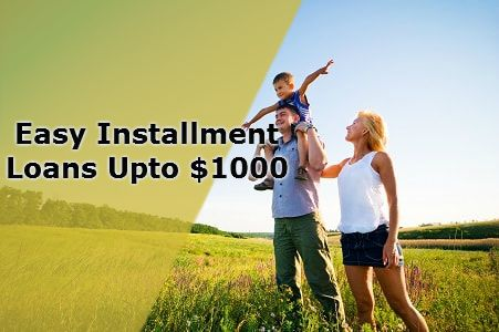 Installment Loans are easy finance solution for those people who need quick cash help at time of cash needs. These loans are available via online medium without any hurdle and other paperwork formality. So, apply now.