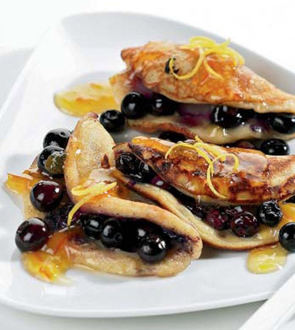 Something for the weekend: Brunch Recipe of Blueberry & Marmalade Pancakes