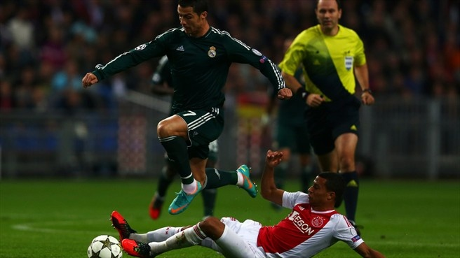 C. Ronaldo with a hat-trick to his name in the Champions league