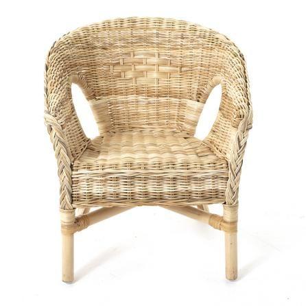 Kids Java Wicker Chair | Dunelm