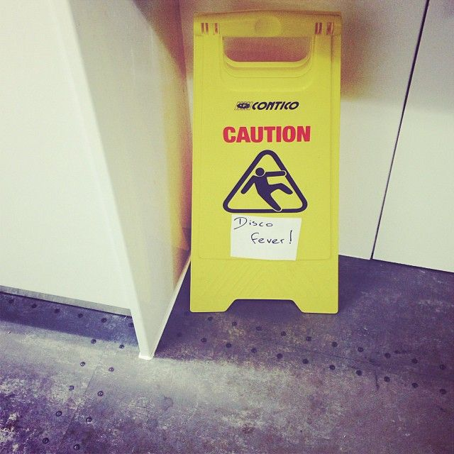 Caution...disco fever.
