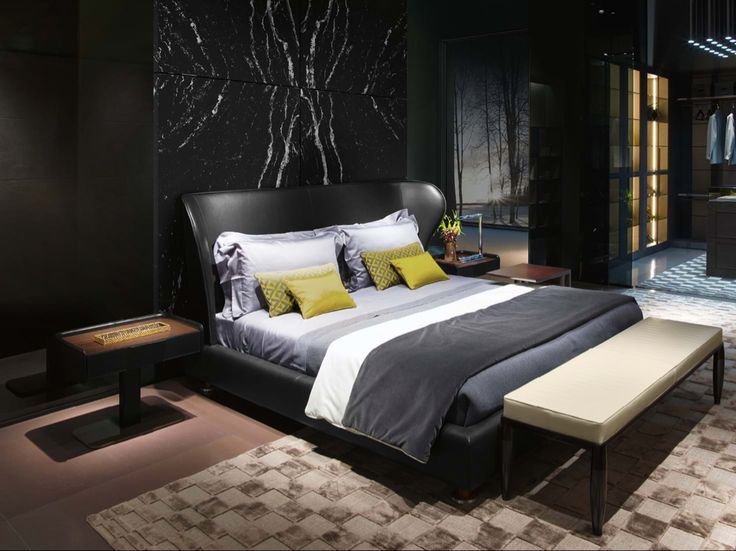 Rea Beds and nighttables Idee letto