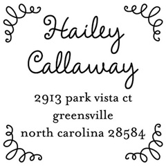 address stamp - like this one