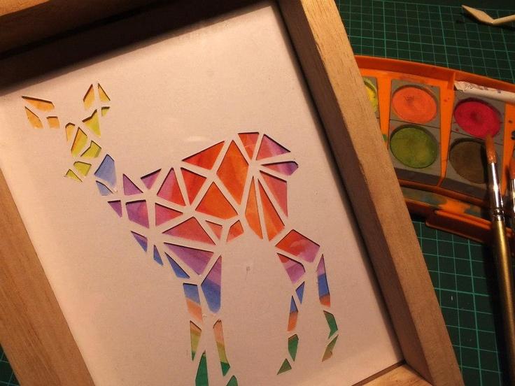 45 best kirigami images on pinterest kirigami for Kirigami paper art