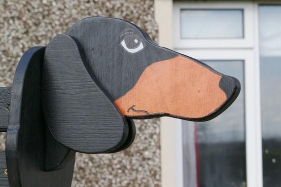 Jack Russell Gift Personalised Wooden Dog Plant Pot Holder