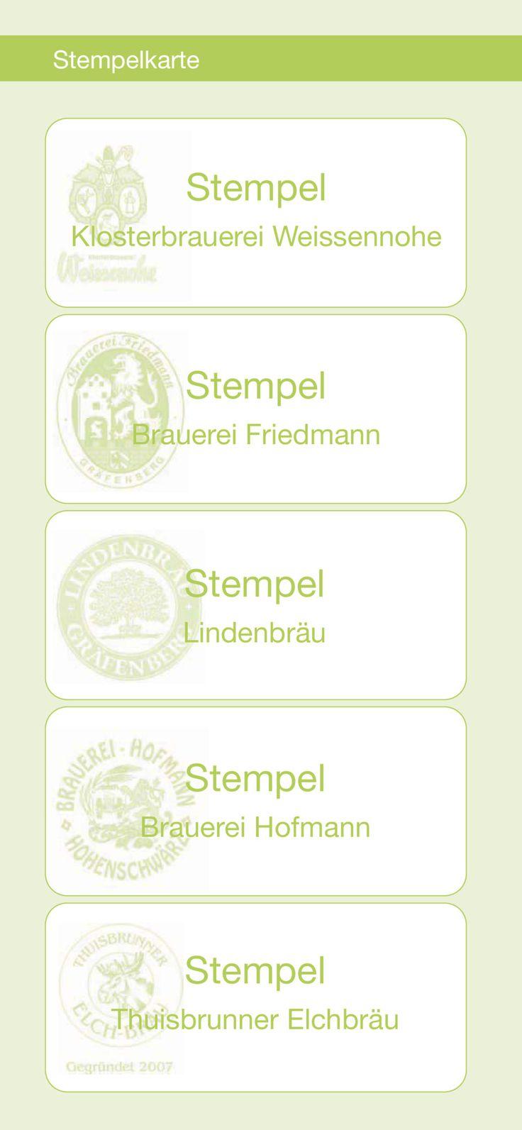"""Stempelkarte """"Fünf-Seidla-Steig"""""""