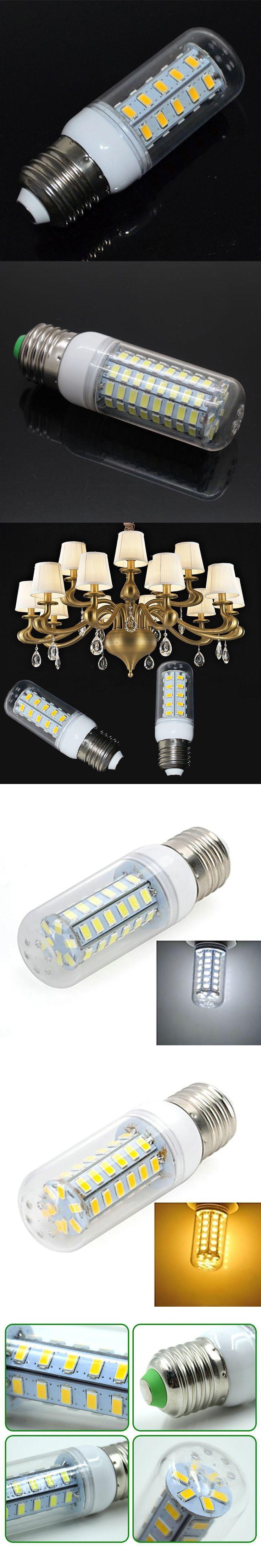 Ampolleta Led 220V E27 E14 LED Bulb Filament LED Lamp 24 36 48 56 69 LEDs SMD5730 Lampadine Led Lights For Home Decoration $1.57