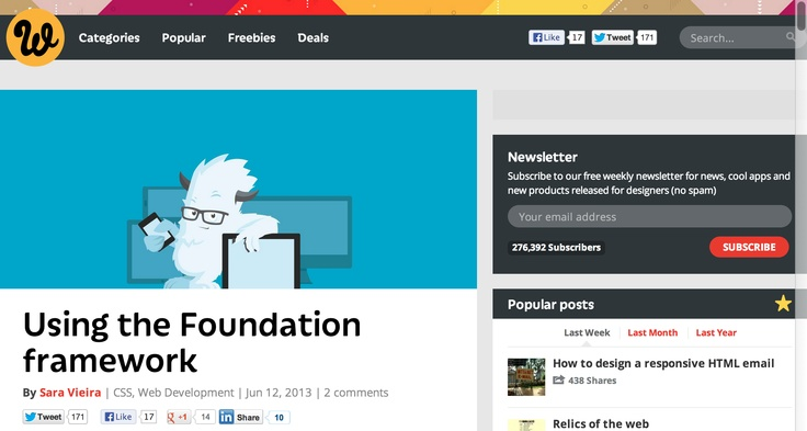 Using the Foundation framework | Webdesigner Depot