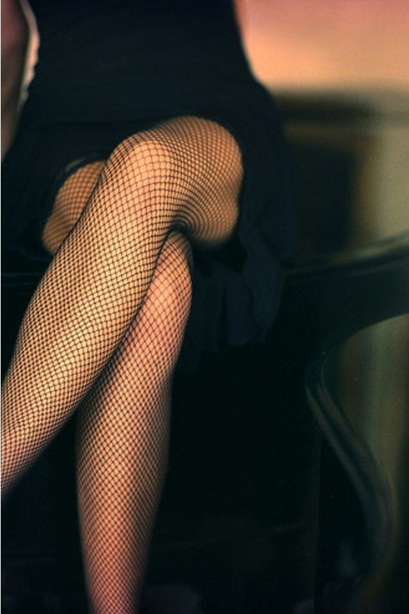 There will always be a place in this world for fishnets.