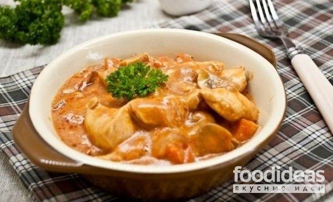 Бефстроганов из свинины классический рецепт с фото