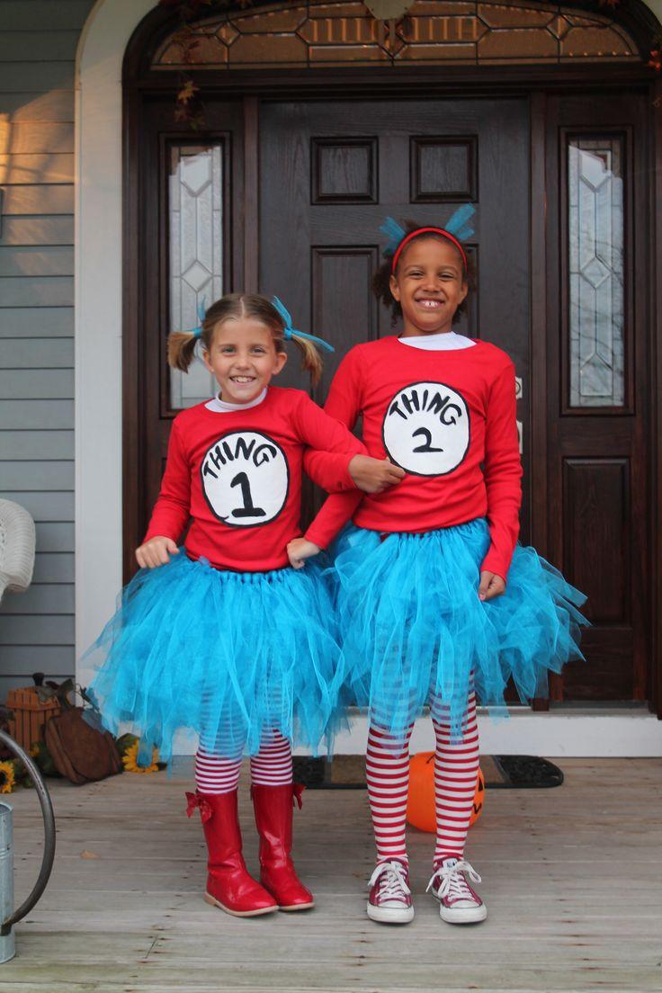 thing 1 thing 2 halloween costume - Thing 1 Thing 2 Halloween Costume