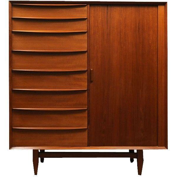 159 best mid century modern danish images on pinterest for Danish teak bedroom furniture
