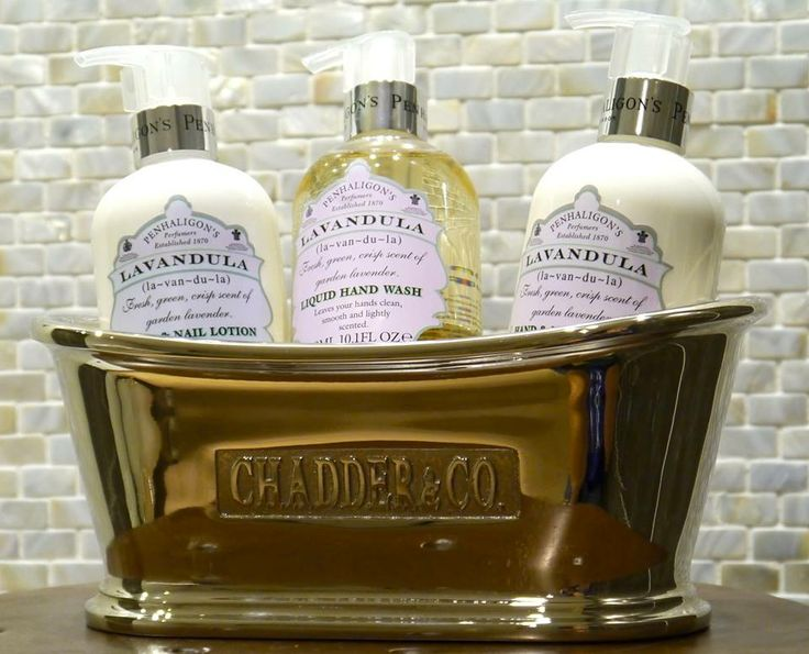 chadder miniature hand made cast aluminium bath filled with penhaligons luxury soap find this pin and more on beautiful bathroom accessories