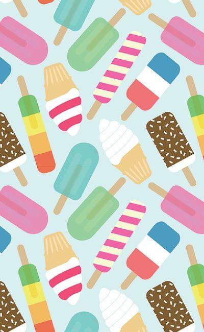 Hva med å pakke inn årets sommergave i en herlig iskrem print?