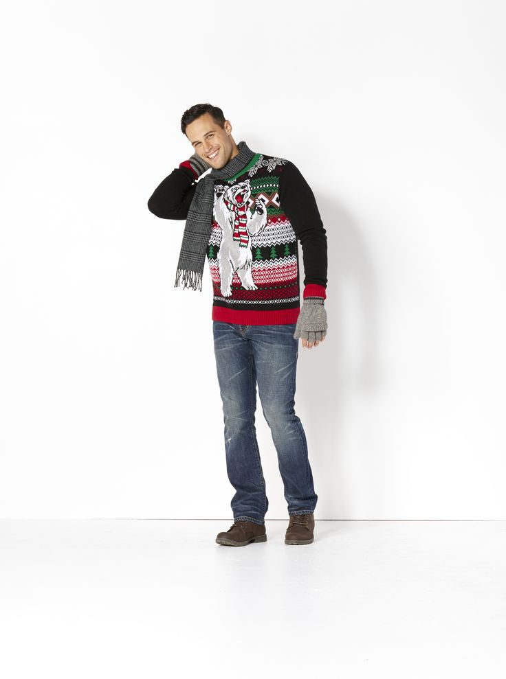 'Tis the Season. Add some joy to his holidays with one of our Ugly Christmas Sweaters. It's a perfect gift on its own or teamed up with a warm scarf and a great pair of jeans.