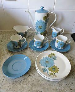 1960s VINTAGE RETRO 16 PIECE JOHNSON BROS SNOWHITE DINNER SET & 21 best Plate Collection images on Pinterest | Dishes Dinner plates ...