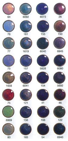 Schauer Transparent Jewellery Enamels (Part 3)