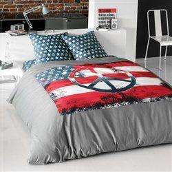 Housse de couette, US FLAG