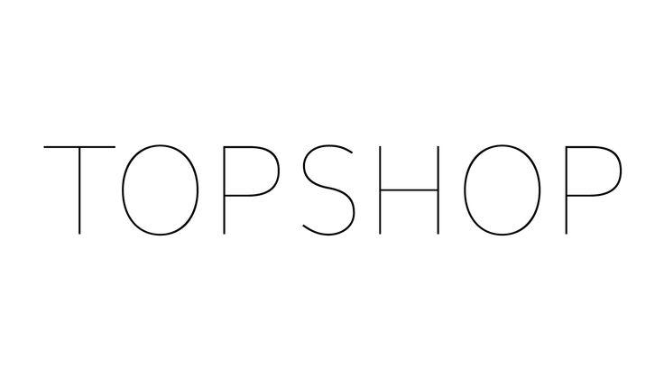 TOPSHOP – logotype design for Arcadia Group, 2002