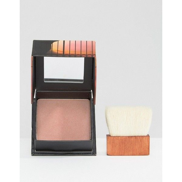 Benefit Dallas Blusher featuring polyvore, beauty products, makeup, cheek makeup, blush, pink and benefit blush